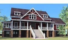 Coastal Home Plans - Parson's Cottage