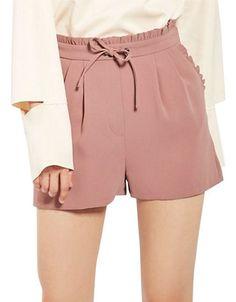 Women | Shorts | Frill Waist Shorts | Hudson's Bay
