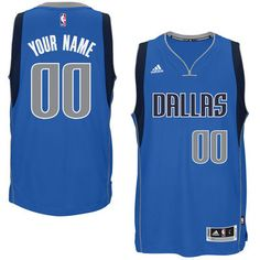 New York Knicks Jersey Size Medium. Mens Dallas Mavericks adidas Blue  Custom ... e1e7ab73e