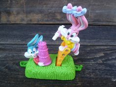 Vintage Tiny Toons McDonalds Train Happy Meal by silverliningtoys