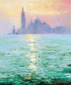 Reflections by Gleb Goloubetski, Oil on Canvas, 60cmx50cm