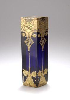 Joseph Riedel, Polaun, Vase, um 1910