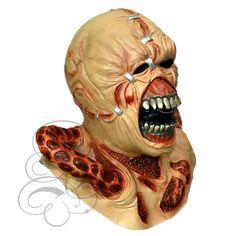 Halloween Latex Horror Famous Movie Nemesis Resident Evil Costume Dress Up Masks