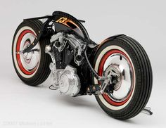 Rock'n Bike by Cyril Gautier   based on HD 883 Sportster   photo by Michael Lichter
