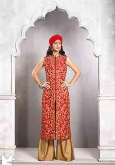 Look sensationally awesome by draping this #Maroon Art Silk Pakistani #Salwar #Kameez with Dupatta.