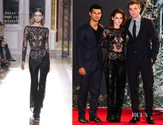 Kristen Stewart In Zuhair Murad Couture - 'The Twilight Saga Breaking Dawn - Part 2' London