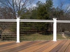 HNH Deck and Porch deck with Atlantis Cable Railing