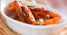 Maple-Glazed Carrots With Crunchy Walnuts