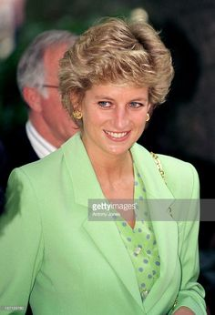 The Princess Of Wales Visits Venice As Patron Of The Serpentine Gallery.