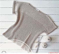 El aumento redondo – el Mundo de la labor de punto y la costura Black Crochet Dress, Crochet Cardigan, Knit Crochet, Crochet Kits, Casual Fashion Trends, Big Knits, Summer Knitting, Crochet Woman, Easy Crochet Patterns