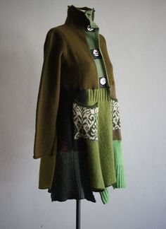 Recycled Sweater Jacket