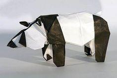 Giant Panda origami