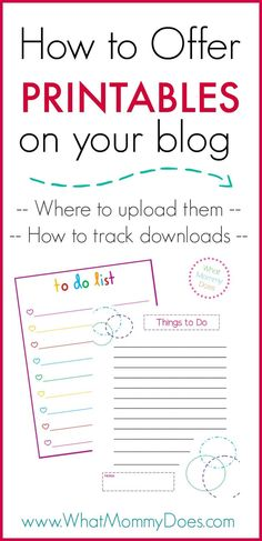 How to Create Free Printables in PicMonkey & Publisher - This is perfect! I needed a simple tutorial that teaches me how to create printables for my blog. PicMonkey is so easy to use….I'll be able to make to do lists, checklists, and planner pages in minutes using this guide.