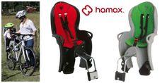 Hamax Kiss - Kinderfahrradsitz für hinten