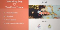Download and review of Wedding Day - Wedding WordPress Theme, one of the best Themeforest Wedding themes {Download & review at|Review and download at} {|-> }http://best-wordpress-theme.net/wedding-day-wedding-download-review/