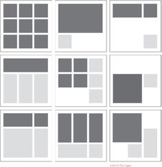 Square Layout Templates: