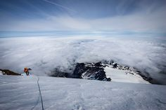 A very imposing peak Mount Rainier's ice-covered peak boils beneath the surface. When people think volcanoes, they often think of lava spilling over the Hawaiian Islands. Washington's Cascades, part of a range stretching from British Columbia to California, are home to a very different type of volcano. - 50 states, 50 spots: Natural wonders - CNN.com