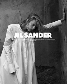 Jolie Alien Jil Sander SS 2018 ph. Mario Sorrenti