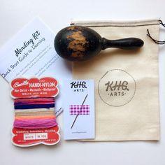KHG Arts Mending Kits: Quick Start Guide to Darning