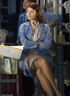Despite star Gemma, making a number of TV appearances to promote it, London's Adelphi Theatre is set to close Made In Dagenham early due to poor ticket sales. English Actresses, British Actresses, Made In Dagenham, Gemma Arteton, Gemma Christina Arterton, Pantyhose Outfits, Ticket Sales, Flawless Beauty, Cute Beauty