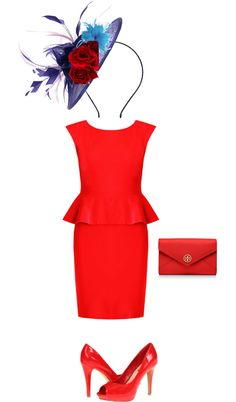 """""""Derby Outfit"""" by bvoss1215 on Polyvore"""