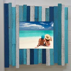 Introducing the Islander Beach frame! The multiple colors in this frame series are inspired by the cool blues and greens surrounding the Caribbean Islands. It