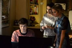 What are they looking at on the computer? Tune-in on Tuesday to the ALL NEW PLL to find out! | Pretty Little Liars