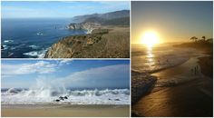Seven spots you shouldn't miss while driving down the coast from San Francisco to Los Angeles on Highway Highway 1, Usa Trip, California Living, Travel Usa, Curls, San Francisco, Coast, Ocean, Lifestyle