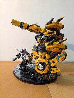 """"""" A cloud of dust billowed across the drop site, Al'tyr looked up from the hab schematics he was engrossed in. Tau Warhammer, Warhammer Paint, Paint Schemes, Colour Schemes, Tau Battlesuit, Tau Army, Tau Empire, Warhammer 40k Miniatures, Fantasy Miniatures"""