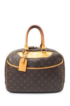 Vintage Louis Vuitton Leather Deauville Handbag d2dbea6146f77