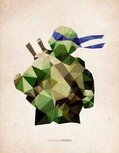Polygon Heroes | James Reid