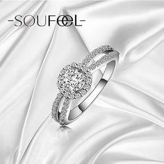 Soufeel white ring Shop->http://www.soufeel.com/rings