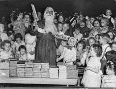 Radio station 2CH's Children's Christmas party, Trocadero, Sydney, 22.12.1936 / by Sam Hood by State Library of New South Wales collection, via Flickr