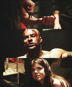 the 100. Man is he a good actor (from what little I've seen so far). I really liked this episode