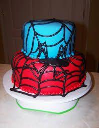 Image result for spider man cake designs