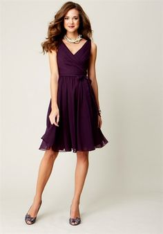 Neckline is similar to my dress, and I like the fullness at the hem.