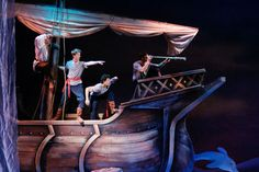 Scenes 1 & 7 (The Ocean Surface) - Eric's ship.
