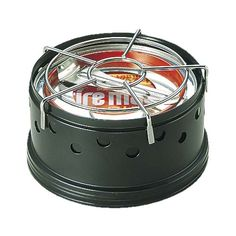 パワーマック丸型ミニコンロ〈固形燃料型〉固形燃料600g缶付