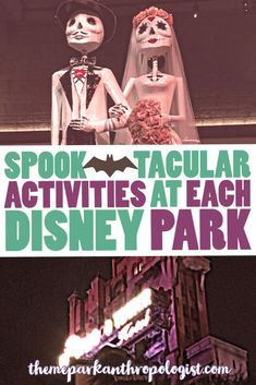 With Disney scaling back it's fall offerings this year, it means we must get a little creative in making a Halloween itinerary to Disney World. Here, I've listed festive activities that can be done in all four parks. Have a spectacularly spooky season! Haunted Mansion (Magic Kingdom) Okay, let's start with the obvious.