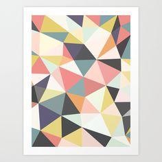 Deco+Tris+Art+Print+by+Beth+Thompson+-+$18.00