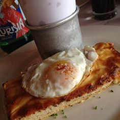 Croque Monsieur  @ The Odeon - Perfection! // http://forkly.com