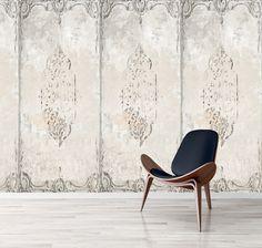 Wallpaper - Crumbling Plaster Wall Panel