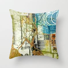 CLiM8 Throw Pillow by ChiTreeSign - $20.00
