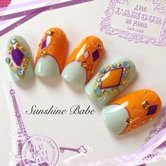 Let's meet our Nail Artist for this week:  Name: Sayo Takemoto Instagram: @Sayotakemoto Facebook: https://www.facebook.com/SunshineBabeProducts  Sayo is a well known nail artist, instructor and the owner of Sunshine Babe... Some of their famous designs are for Betty Boop and Comic Halftone Dot.  #nail #nailart #naildesign #gel #gelnail #akzentz #biosculpturegel #acegel #nailartclub #japanesenailart #nails #vancouver #oshimanails #thenailroom #nailartaccessories #jewelry #swarovski #weekend