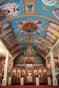As the pious woman poured her most precious oil on the feet of Our Lord, Orthodoxy seeks always to offer to God what is best and most beautiful.