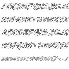 Domino Mask Outline Italic Font