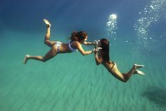 Under water pictures are always the best.