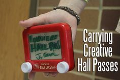 Best of SNO : Better than paper: Teachers use creative hall passes