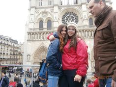 Love this photo in Notre Dame