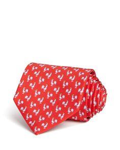 Salvatore Ferragamo Rooster Neat Classic Tie